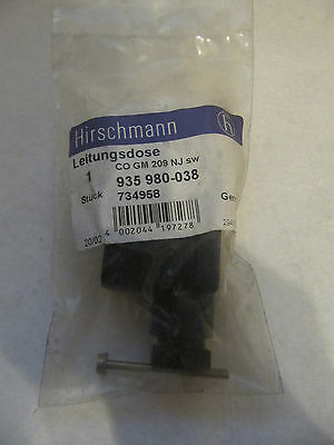 Hirschmann Leitungsdose CO GM 209 NJ sw 935980-038 734958