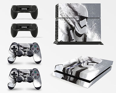 Playstation 4 PS4 Console Skin Vinyl Cover Decal Sticker Star Wars Battlefront