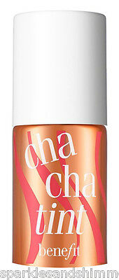 Benefit CHACHATINT Mango Tinted Lip & Cheek Stain 4ml TRAVEL SIZE Cha Cha Tint