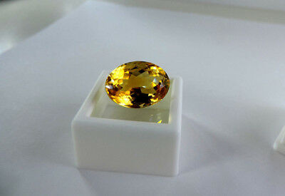 Sweet 10.40ct Ural Mountain, Russian Citrine.Cut by me :) SIMPLY BREATHTAKING