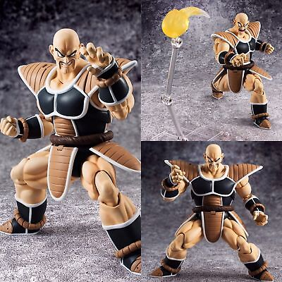 "In STOCK Bandai Tamashii S.H. Figuarts Dragonball Z ""Nappa"" Action Figure USA"