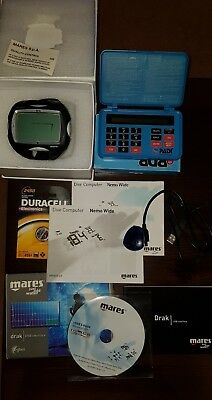 Mares Nemo Wide 2 Scuba Diving Computer Boxed, with DRAX Computer program