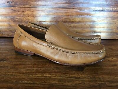 Men's Cole Haan Loafers Shoes Tan Light Brown Soft Leather 8.5 M