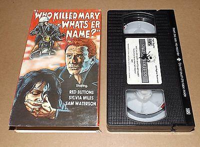 Who Killed Mary Whats Er Name vhs video Red Buttons