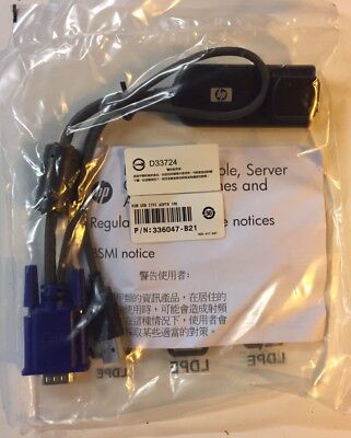 HP 336047-B21 USB KVM Interface Adapter