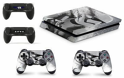 PS4 SLIM Console Skin Vinyl Cover Decal Sticker Star Wars Battlefront Stormtroo
