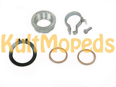 MANIFOLD NUT EXHAUST MOUNTING SET Pas for SIMSON STAR SPERBER Habicht Duo SR4