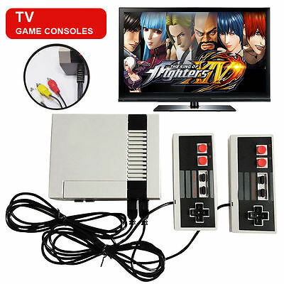 Mini Vintage Retro TV Game Console Classic 620 Built-in Games 2 Controllers #2