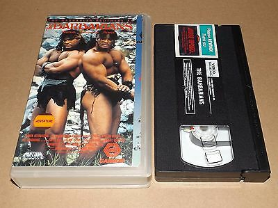 The Barbarians vhs video The Barbarian Brothers David & Peter Paul