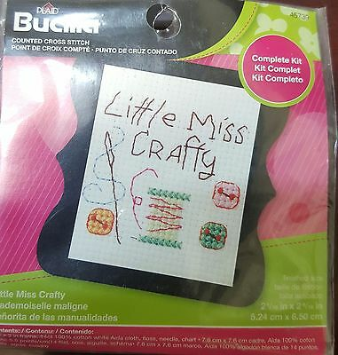 Bucilla Cross Stitch Kit - Little Miss Crafty