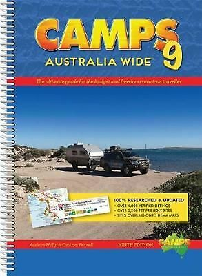 Camps Australia Wide 9 by Philip Fennell Spiral Book