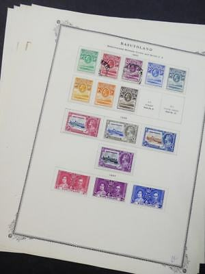 EDW1949SELL : BASUTOLAND Choice quality VF, OG mostly Mint collection. Cat $208