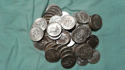 90% Silver Coin Lot of Circulated Kennedy Half Dollars Choose 1 or more