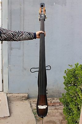 New yinfente 3/4 Electric Upright Double Bass Solid wood yinfente Ebony wood #G1