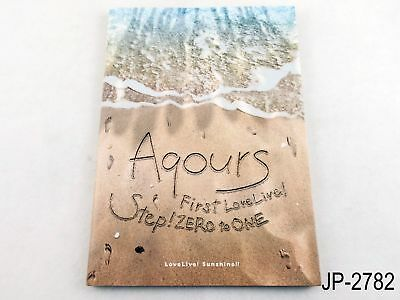 Love Live Sunshine Aqours First Concert Pamphlet Step Zero to One Book US Seller