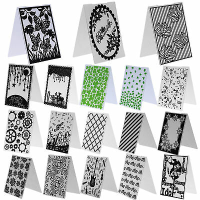 Plastic Embossing Folder Template DIY Scrapbooking Paper Cards Making DIY Craft