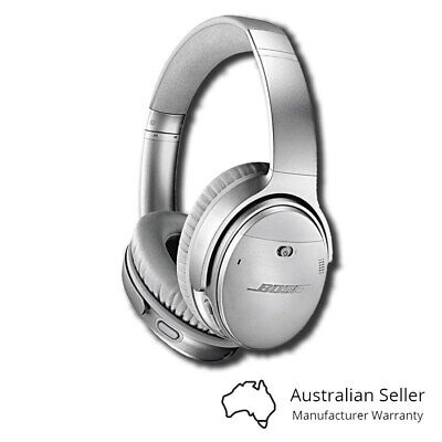 Bose QC35 QuietComfort 35 II Wireless Headphones - Silver