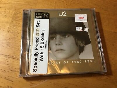 U2 - The Best of 1980-1990 / The B-Sides - CD ** Brand New **