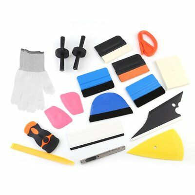 Professional Auto Car Window Tint Tools Kit Decals Wrap Application Squeegee SK#