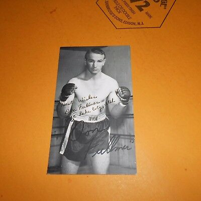 Don Fullmer was an American professional boxer Hand Signed Photo