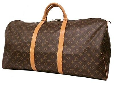 AUTHENTIC LOUIS VUITTON Keepall 60 M41422 Grade AB USED -CJ