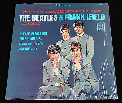 """Beatles & Frank Ifield! """"portrait Cover""""! Authentic Vee Jay 1085! Stereo! Mint!"""