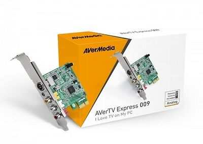 AVerTV Express 009 Aver Tuner for receiving analogue terrestrial TV and radio