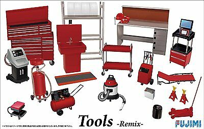 Fujimi GT28 1/24 Garage & Tool Series Tools Remix