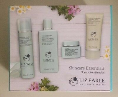 Brand New Liz Earle Skincare Essentials Gift Set Combination Normal Skin