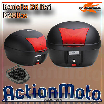 BAULETTO KAPPA MONOLOCK k28bas black 28 L IDEAL YAMAHA CYGNUS X 125