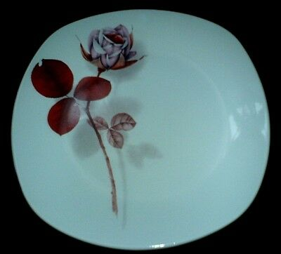 MIDWINTER Stylecraft 'Shadow Rose'  Fashion Shape Square 8 3/4 inch Plate