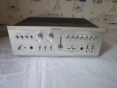 Sony TA1150 Vintage Intergrated Amplifier With Phono Inputs