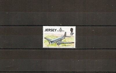 Jersey 1993 SG618 1v of set NHM RAF 75th-Douglas Dakota DC3 1936 Transport Plane