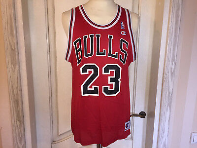 NBA Basketball Trikot Shirt Jersey Chicago Bulls #23 Michael Jordan Champion L