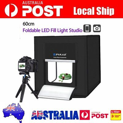 Fold PULUZ Photography Tent Studio Box 60CM Photo Lighting Shoot White Light HX