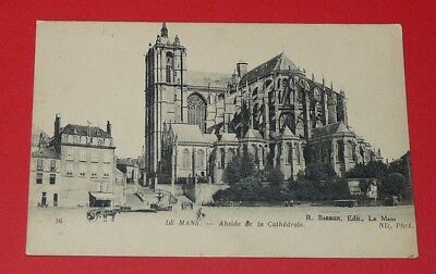 Cpa 1910-1920 Carte Postale France Sarthe 72 Le Mans Abside Cathedrale