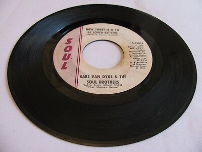 Earl Van Dyke & The Soul Brothers-How Sweet It Is To Be/i Can't Help Myself-Soul