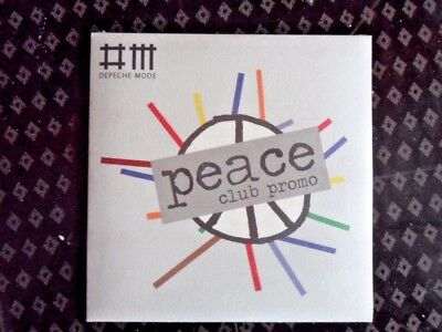 "DEPECHE MODE ""Peace"" (RARE 8 track ""Club Promo"" 5"" CD) Still sealed!"