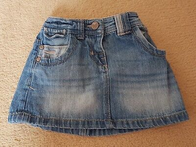 Next 12-18 months denim skirt