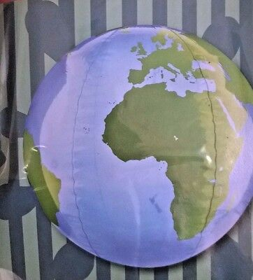 Giant World GIobe inflatable Beach Ball Swimming Blow Up Pool Party Play Holiday