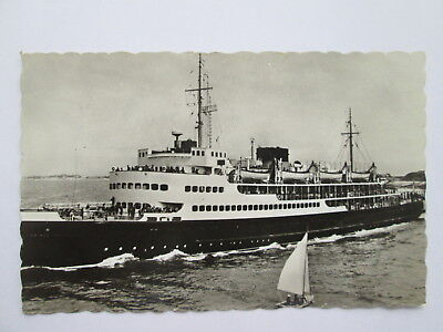 Vintage RP Postcard - Ostende to Dover Ferry .
