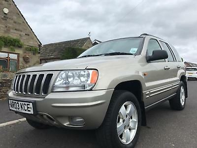 2003 Jeep Grand Cherokee 2.7 Crd Limited 4X4 Automatic