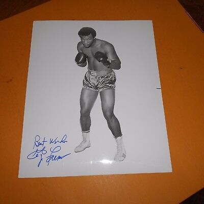 George Foreman is an American former professional boxer Hand Signed Photo