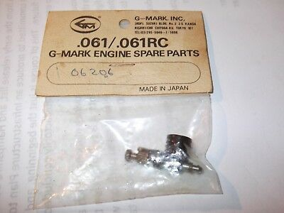 Vintage G-Mark .061 Japan R/c Aero Engine Venturi & Needle Valve Aircraft Model