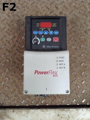Allen-Bradley 22B-D2P3N104 PowerFlex 40 Variable Frequency AC Drive 1HP 3PH