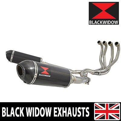 Zzr 1100 Zx-11 Zx11 4-2 Exhaust System Oval Carbon/carbon Silencers 300Ct