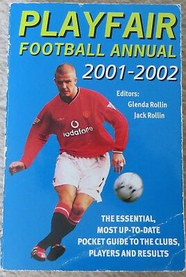Playfair Football Annual 2001-2002 David Beckham Manchester United Cover