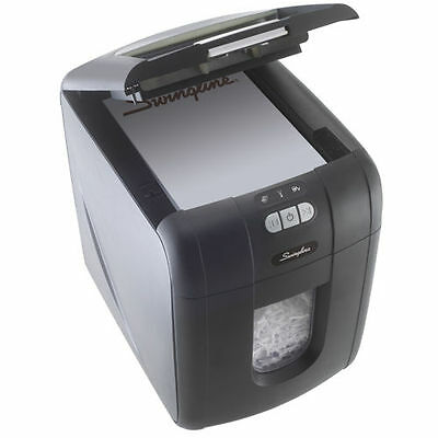 Swingline Stack-and-Shred 100X Cross-cut Shredder