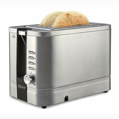 Oster 2 Slice Extra-Wide Slot Toaster - Stainless Steel