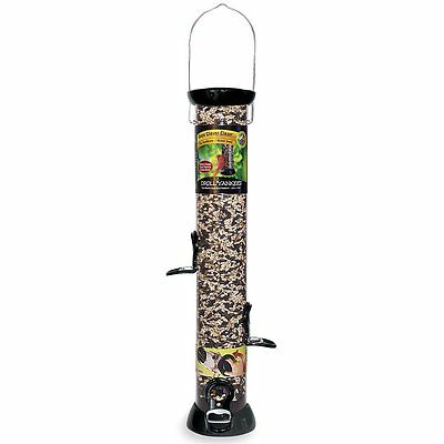 Droll Yankees, Inc CC18S 18-Inch Onyx Sunflower Tube Bird Feeder